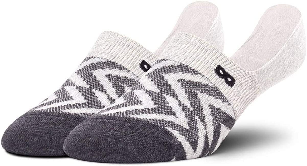 Pair of Thieves Men's Invisible No Show Socks – Liner Socks with Silicon Gripper – Ready for Everything