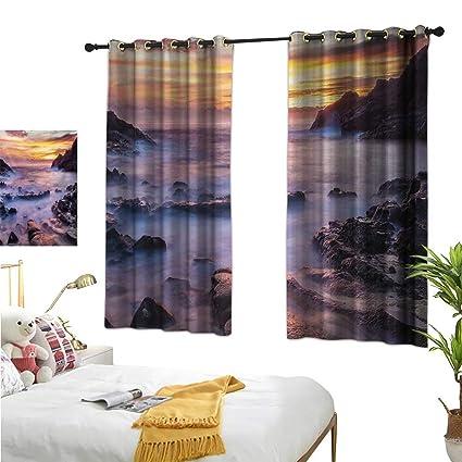 Amazon.com: Luckyee Decor Curtains by,Hawaiian,55\
