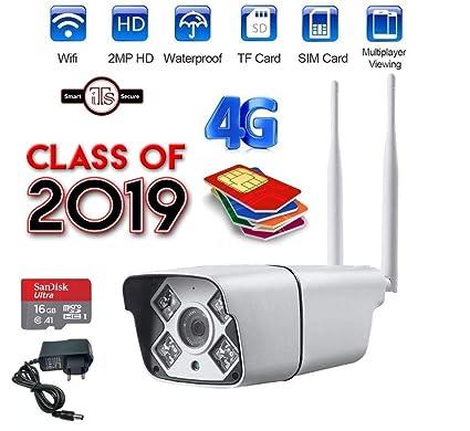 ITS Wireless Sim Card 4G Ip CCTV Security Camera on