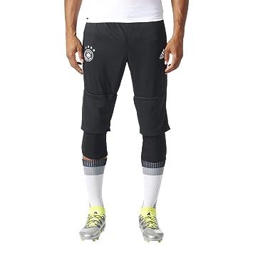 adidas Herren Dfb Training Pant 34 Hose, BlackWhite, XL