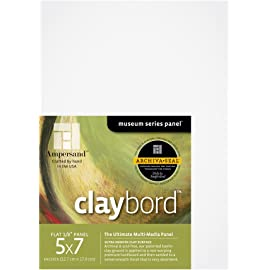 Ampersand Claybord 5 in. x 7 in. pack of 3