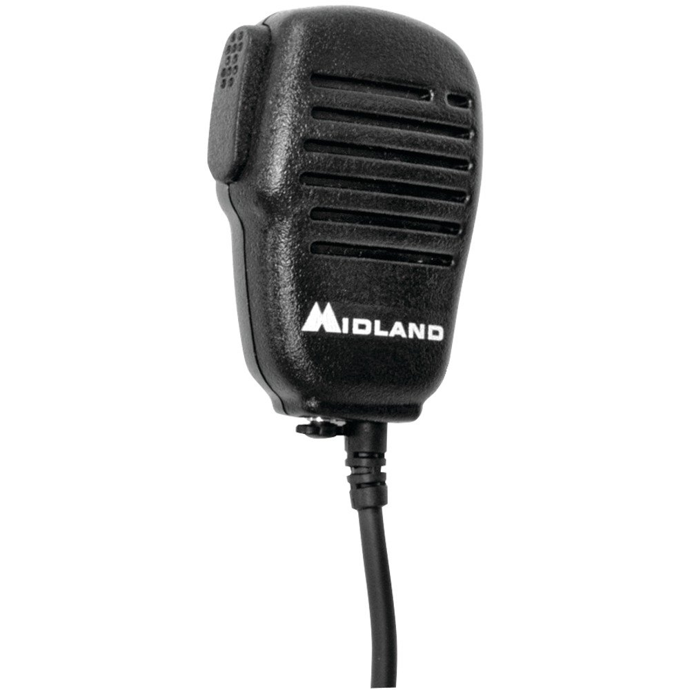MIDLAND AVPH10 Handheld/Wearable Speaker Microphone with Push-to-Talk for GMRS Radios Computers, Electronics, Office Supplies, Computing by MIDLAND