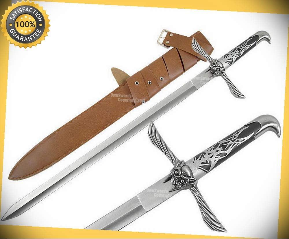 Assassins Creed Altair Majestic Sword W Sheath Steel Blade Saber