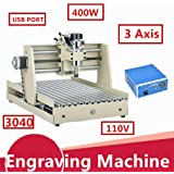Power Milling Machines by CNCEST, 6040 1500W 4 Axis Engraving