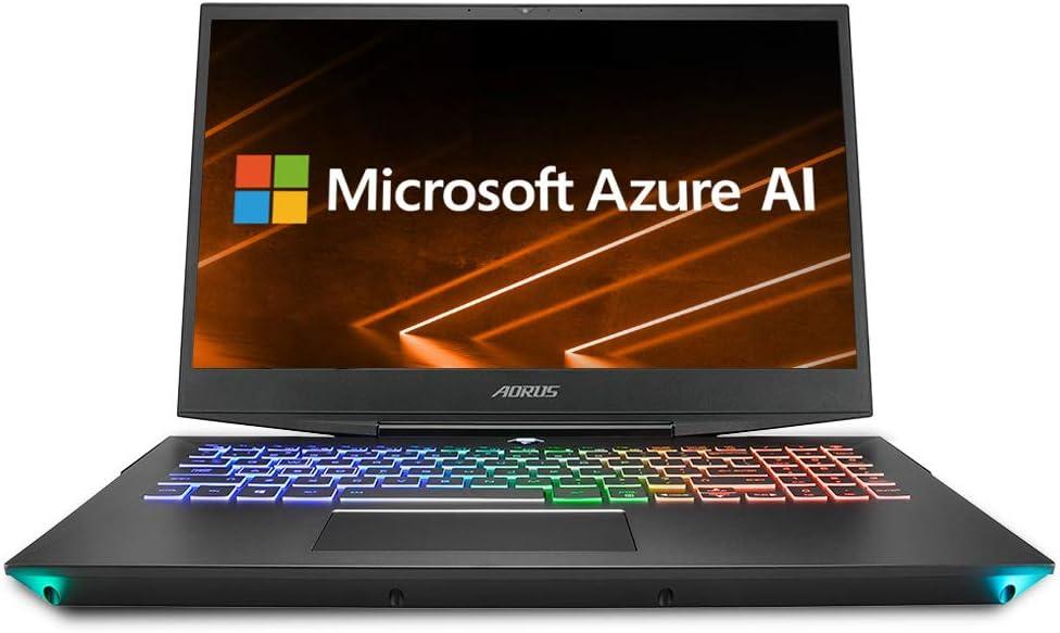 "AORUS 15-SA-F74ADW 15"" Thin Bezel LG 144Hz FHD IPS LCD, Intel i7-9750H, NVIDIA GeForce GTX 1660 Ti, Samsung 16GB RAM, Intel M.2 PCIe NVMe 512GB SSD, Win10, Ultra Slim Metal Chassis Gaming Laptop"