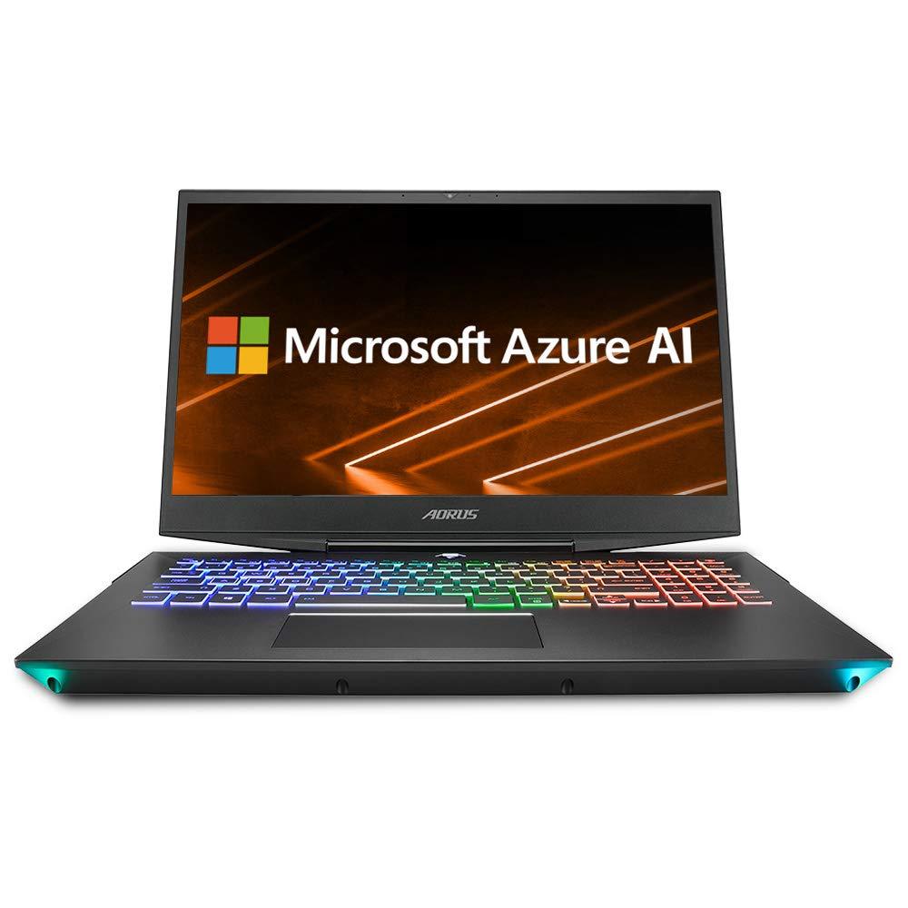 "AORUS 15-X9-RT4BD 15"" Thin Bezel FHD LG IPS 144Hz LCD, Intel i7-8750H, NVIDIA GeForce RTX 2070, 2666MHz 16GB RAM, Intel M.2 PCIe NVMe 512GB SSD, 2TB HDD, Win10, Ultra Slim Metal Chassis Gaming Laptop"