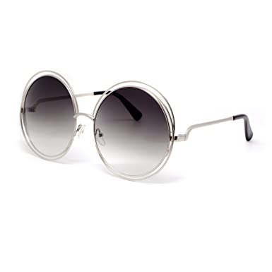511f479241b Amazon.com  MLC Eyewear Retro Vintage Round Sunglasses UV400  Clothing