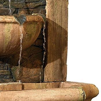 "Tuscan Village 50"" High Faux Slate Floor Fountain"