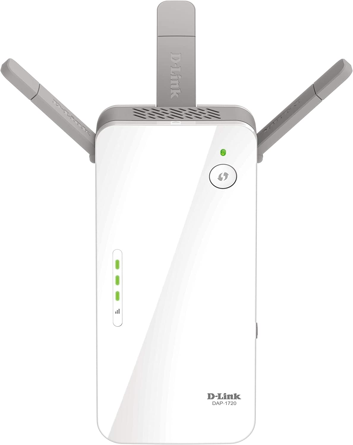 D-Link WiFi Range Extender, AC1750 Plug In Wall Booster, Dual Band Gigabit Wireless Repeater and Smart Signal Indicator (DAP-1720),White