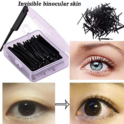 Amazon.com: Invisible Fiber Double Side Adhesive Eyelid Stickers ...