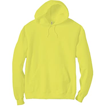 6f73d79e0 Amazon.com  Panda Apparel Adult Neon pullover hooded sweatshirt  Clothing