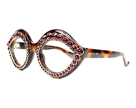 72b258de3d4 Amazon.com  Optical frame Gucci Acetate Havana (GG 3867 S 05L99 ...