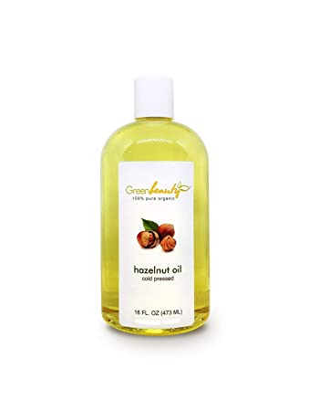 Amazon Com Hazelnut Carrier Oil Organic Cold Pressed 100 Pure Natural 4 Oz To 1 Gallon Size 16 Oz Beauty