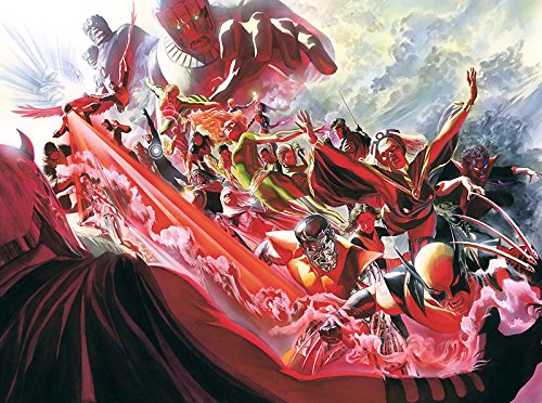 Evolution X-Men 11 Alex Ross AP 15 24x32 Canvas Signed NEW - Edition Ap Numbered Limited