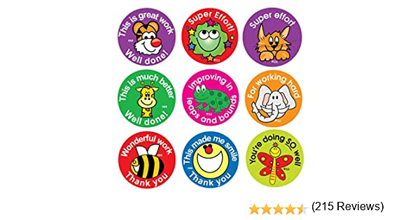 Sticker Solutions DBS175 - Etiquetas para niños (frases de ...