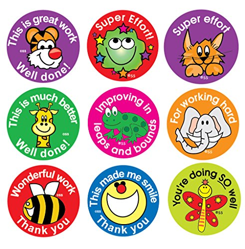 - Sticker Solutions Effort and Praise Reward Stickers (Pack of 180)