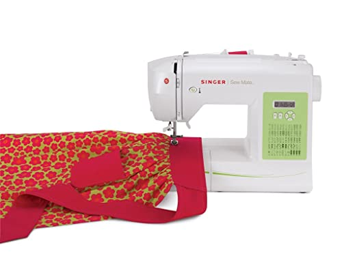 Sew Mate 5400 Handy Sewing Machine Including 60 Built-in Stitches, 4 Fully Built-in 1-Step Buttonhole