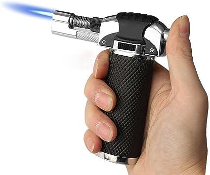 Pistola de llama inflada, encendedor de butano para quemar ...