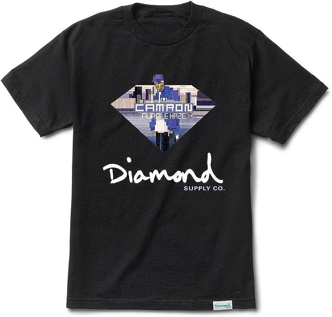 Diamond Supply Co. x CamRon Sign Purple Haze Mens Short ...