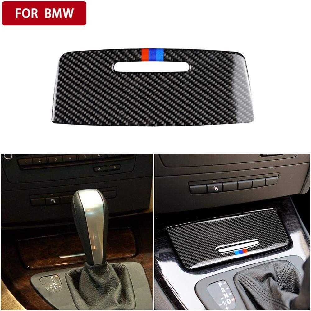 Maliyaw Carbon Car Trim Cover Decals Auto Aufbewahrungsbox Panel Aufkleber Innendekoration f/ür BMW E90 E92 E93 2005-2012 3 Series Zubeh/ör