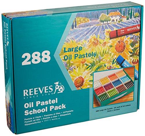 Reeves Oil Pastels School/Community Pack, 288 Pieces