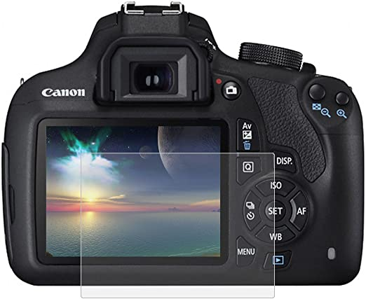 Protector de pantalla de vidrio templado 9H para cámara Canon ...