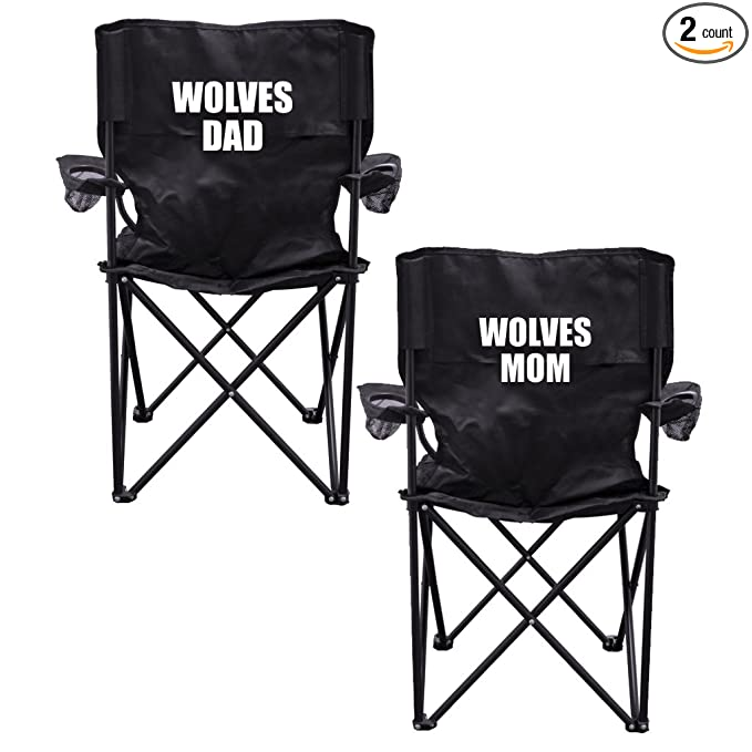 Admirable Amazon Com Victorystore Outdoor Camping Chair Wolves Alphanode Cool Chair Designs And Ideas Alphanodeonline