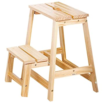 Tritthocker Klappbar Holz Zuhause