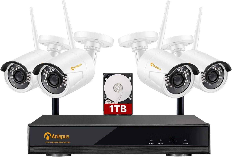 1080P WiFi Cam/éra IP sans Fil S/écurit/é /à Domicile De Plein air CCTV HDR/éseau Cam Vision Nocturne EU Plug, OneSize