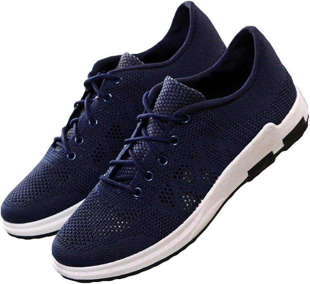 Zapatillas de Running Hombre Zapatos Deportivos para Antideslizante Running Shoes hibote: Amazon.es: Zapatos y complementos
