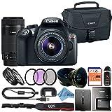 Canon EOS Rebel T6 18MP Digital SLR Camera Retail Packaging Bundle (18-55mm & 55-250mm Premium Bundle) Review