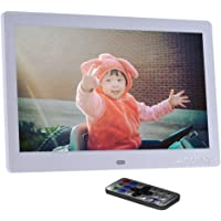 """Andoer 10"""" HD Wide Screen LCD Digital Photo Picture Frame High Resolution 1024 * 600 Clock MP3 MP4 Video Player with Remote Control"""