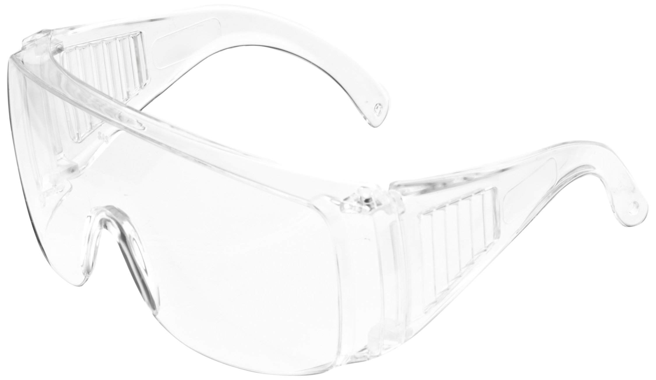 SAS Safety 5120 Worker Bees Safety Glasses, Clear (Pack of 12) by Thomas Scientific