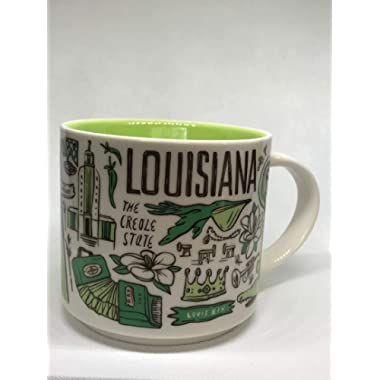Starbucks 2018 LOUISIANA Been There Series Across The Globe Collection Ceramic Coffee Mug