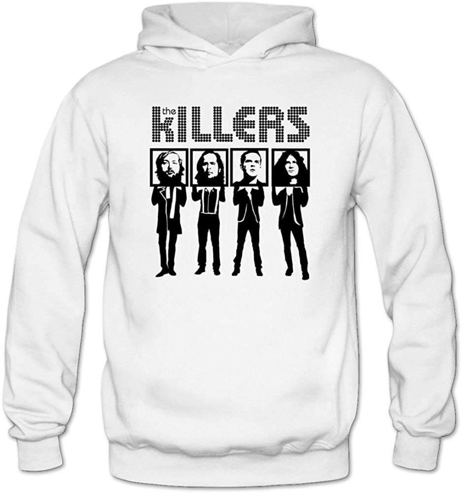 Womens The Killers Gruop Members Logo Hoodie Sweatshirt