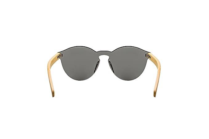 Angel´s Gafas de Sol Polarizadas hechas de bamboo (negro)