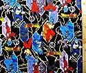 <Qキャラクター・キルティング生地>ドラゴンボール超(スーパー)(黒)#4(キルティング キルト キャラクター キルティング生地 布 入園 入学 ピロル)