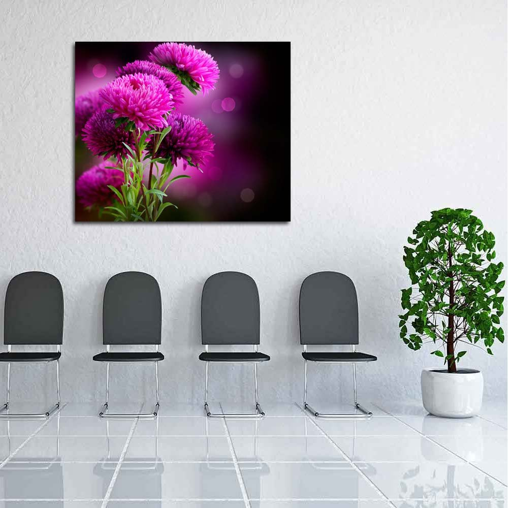 Pitaara Box Canvas Autumn Flowers Unframed Canvas Box Painting 33.6 x 28inch 84f1ed