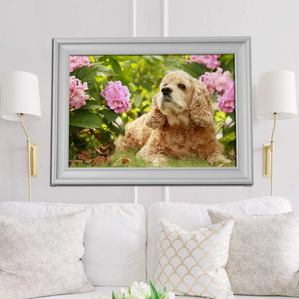 1000 Piece Jigsaw Puzzles for Adults English Cocker Spaniel Dog