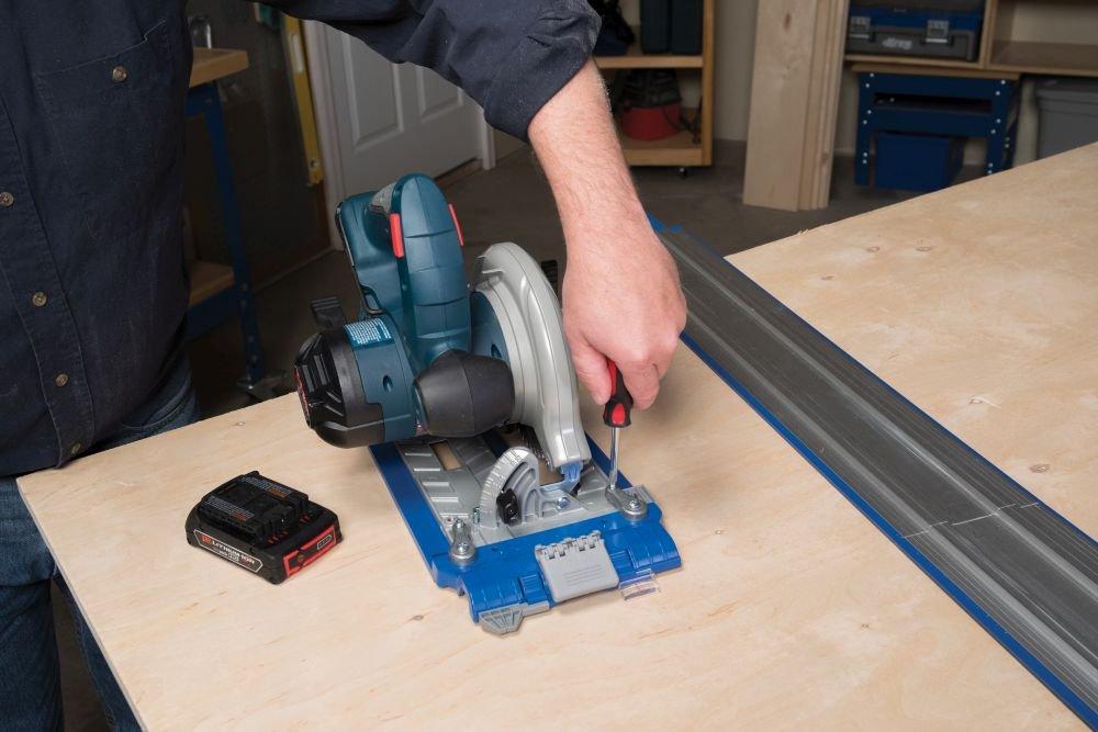 Kreg Circular Saw Guide System Accurate RipCut Track Rail 24in Wide Edge Cutting