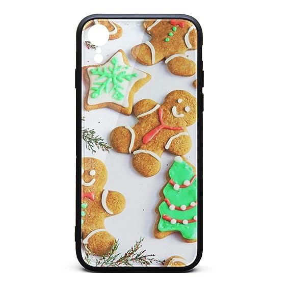 Amazon Com Iiangy Cute Christmas Cookies Thin Soft Iphonerx Case