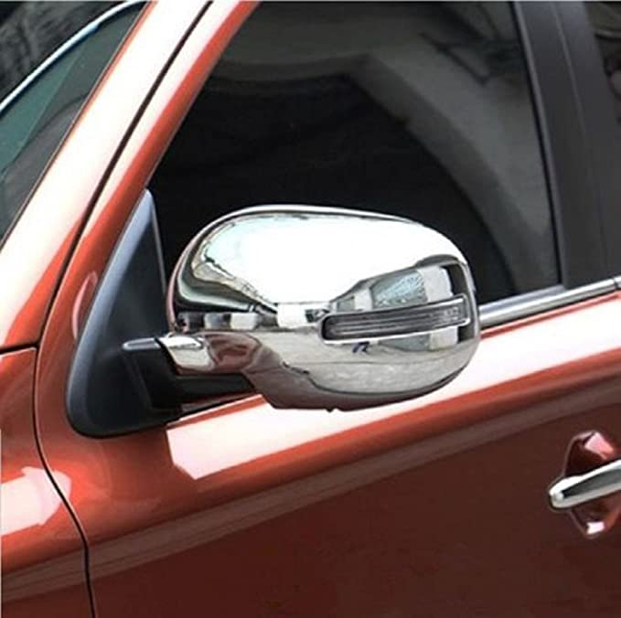Amazon.com: amooca Full carcasa de cromo exterior Espejo ...