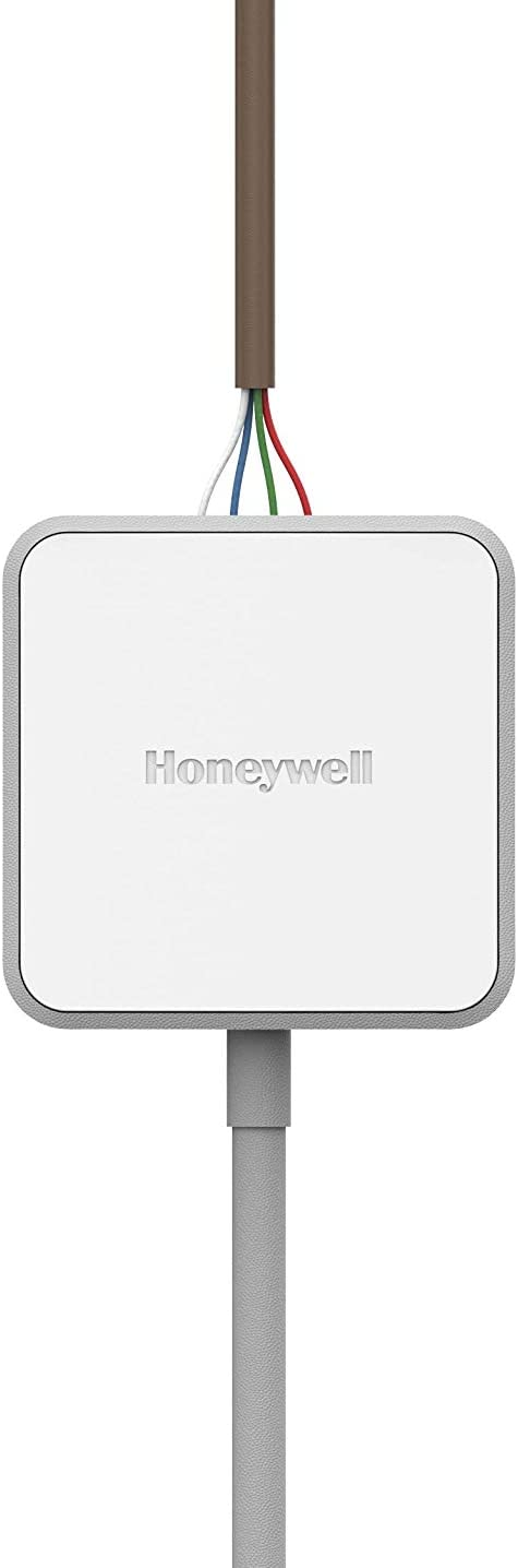 White Honeywell Home CWIREADPTR4001 C-Wire Power Adapter