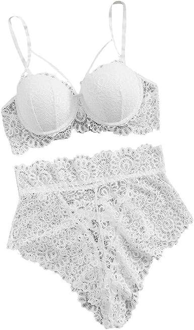 Women Lingerie Underwear Wet Look Bikini Brief Crotchless Lace-up Underpants