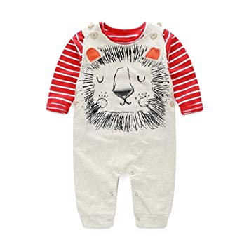 8504dab15 Webla Baby Boys Pants Sets Stripe T-shirt Top Bib Pants Rompers ...