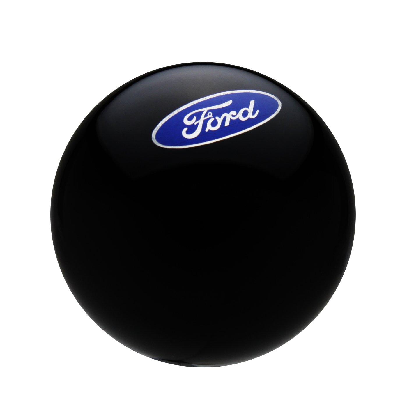 Speed Dawg (SK501OV-FM) Ford Licensed Series Black Shift Knob with Oval 'Ford' Emblem