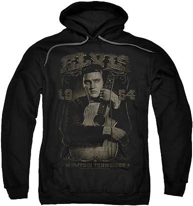 Elvis Heartbreak Hotel Adult Crewneck Sweatshirt