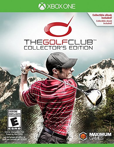 Golf Shop Items (The Golf Club: Collector's Edition - Xbox One)