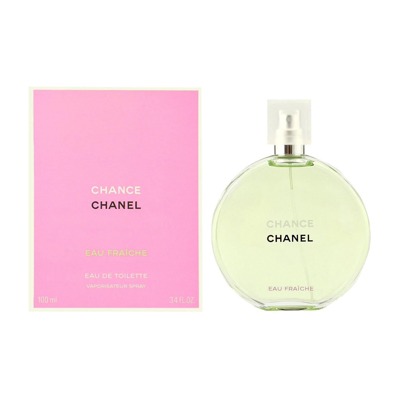791839e696 Chance Eau Fraiche by Chanel for Women, Eau De Toilette Spray, 3.4 Ounce
