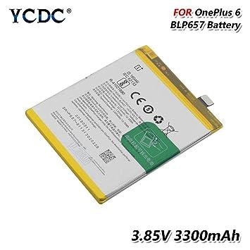 Amazon.com: YCDC - Batería para OnePlus 6 (6 unidades, 3,85 ...